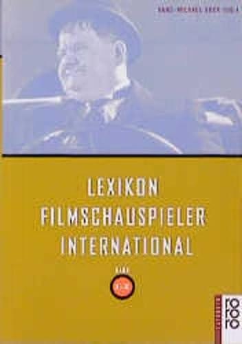 Lexikon Filmschauspieler International L-Z