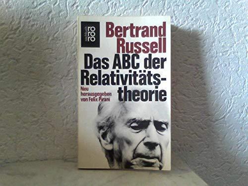 Das ABC der Relativitätstheorie. Bertrand Russell. Neu: Russell, Bertrand: