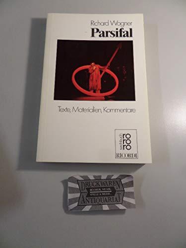 9783499178092: Parsifal (Rororo Opernbuch)