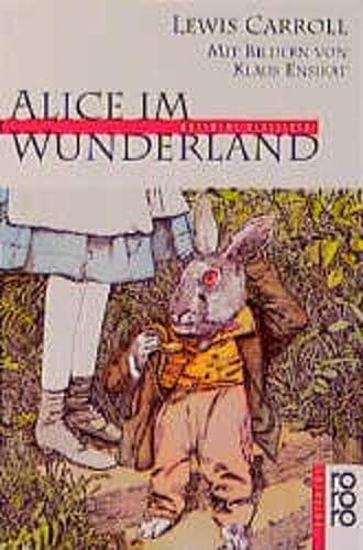 9783499207334: Alice in Wunderland