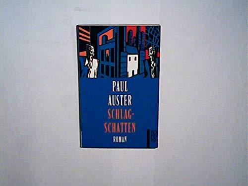 Schlagschatten.: Paul Auster