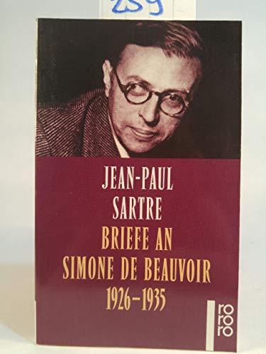 Briefe an Simone de Beauvoir : 1926 - 1935. - Sartre, Jean-Paul
