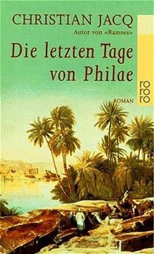9783499222283: Die letzten Tage von Philae.