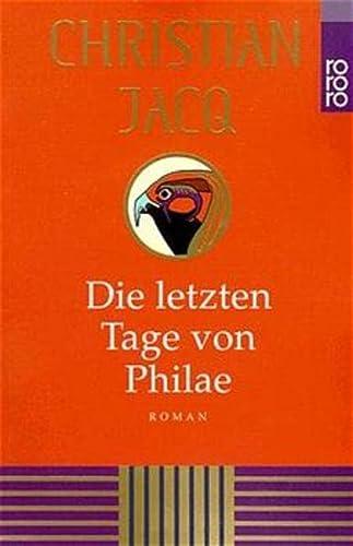 9783499225697: Die letzten Tage von Philae.