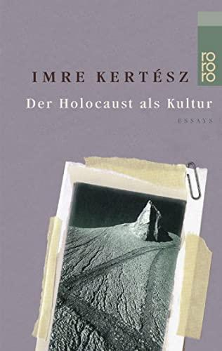 Eine Gedankenlänge Stille, während das Erschießungskommando neu: Imre Kertesz