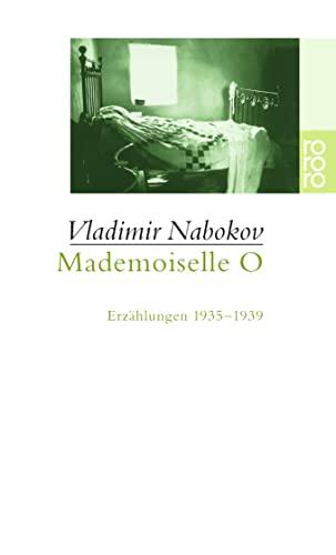9783499226359: Mademoiselle O: Erzählungen 1935-1939: 22635