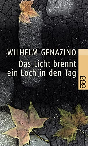 Das Licht brennt ein Loch in den: Genazino, Wilhelm