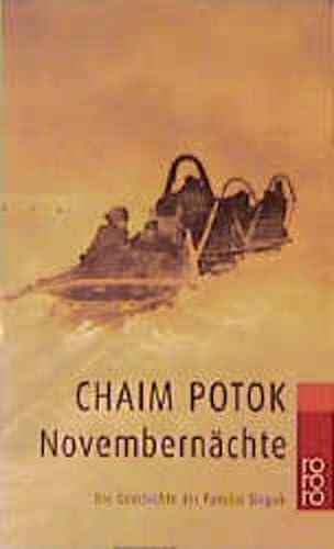 Novembernächte. Die Geschichte der Familie Slepak. (3499228009) by Potok, Chaim