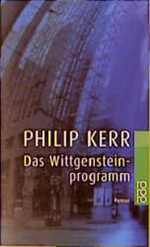 9783499228124: Das Wittgenstein-Programm