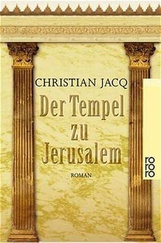 9783499228902: Der Tempel zu Jerusalem.