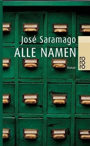 Alle Namen: Jose Saramago