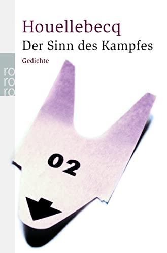 9783499231711 Der Sinn Des Kampfes Gedichte Französisch