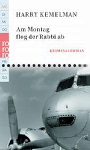9783499232732: Am Montag Flog Der Rabbi AB (German Edition)