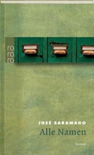Alle Namen, Sonderausgabe: Jose Saramago