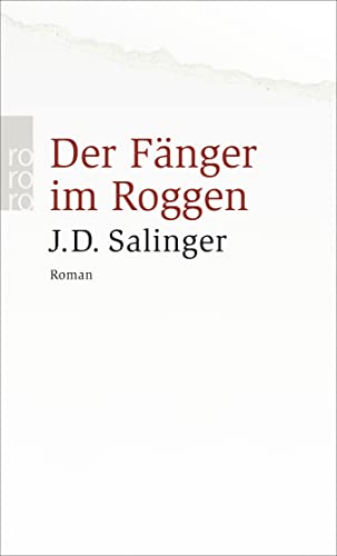 9783499235399: Der Fanger Im Roggen (German Edition)