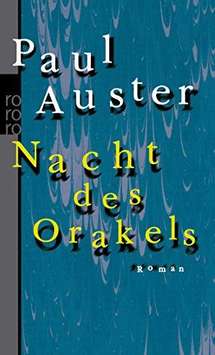 Nacht des Orakels (Taschenbuch) von Paul Auster: Auster, Paul