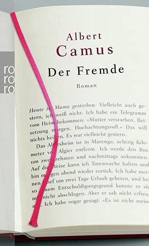 Der Fremde.: Camus, Albert, Aumüller,