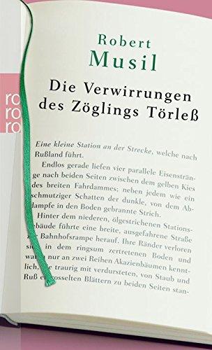 9783499241789: Die Verwirrungen des Zöglings Törleá, Sonderausgabe