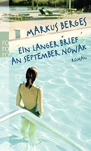 9783499252761: Ein langer Brief an September Nowak