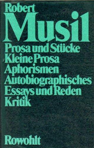 Gesammelte Werke 2, Der Mann ohne Eigenschaften: Robert Musil