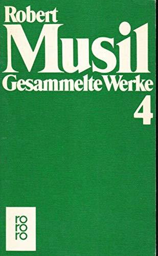 Gesammelte Werke 3, Der Mann ohne Eigenschaften: Robert Musil
