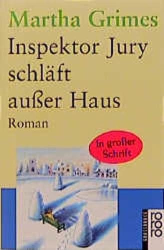 9783499331466: Inspektor Jury schläft außer Haus. Großdruck.