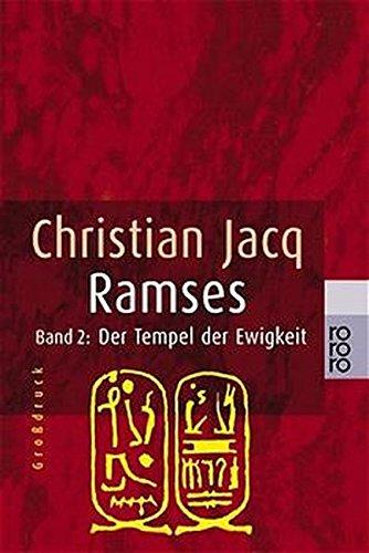 9783499331572: Ramses 2. Der Tempel der Ewigkeit. Großdruck.