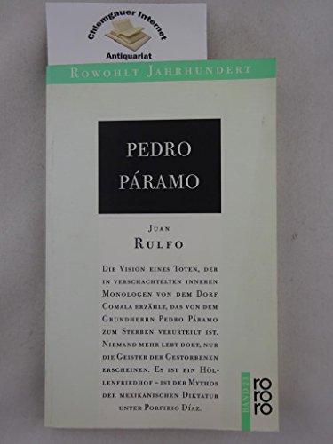9783499400230: Pedro Páramo. Roman