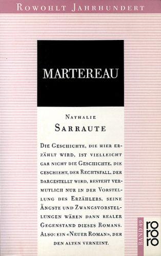9783499400490: Martereau. Roman