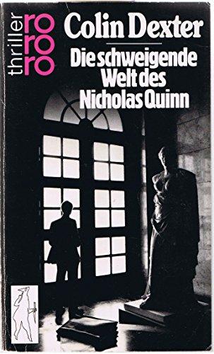 9783499427480: Die schweigende Welt des Nicholas Quinn