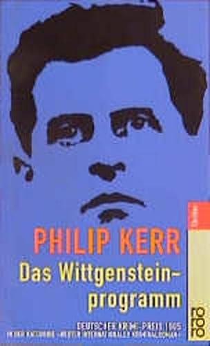 9783499433429: Das Wittgensteinprogramm