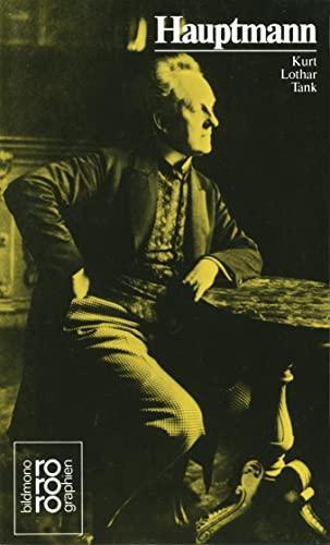 gerhart hauptmann; rowohlts bild - monographien nr. 27 - kusenberg, kurt (hrsg.)