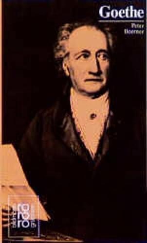Johann Wolfgang von Goethe in Selbstzeugnissen und: Kusenberg,Kurt; Boerner,Peter