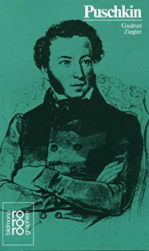 9783499502798: Alexander S. Puschkin: Mit Selbstzeugnissen und Bilddokumenten