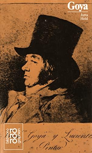 Francisco de Goya : in Selbstzeugnissen und Bilddokumenten (Rowohlts Monographien 284) - Held, Jutta