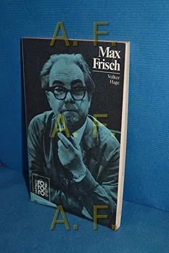 9783499503214: Rowohlt Bildmonographien: Frisch, Max (Rowohlts Monographien)