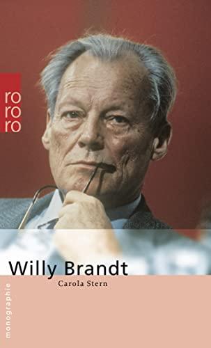 9783499505768: Willy Brandt: Mit Selbstzeugnissen und Bilddokumenten