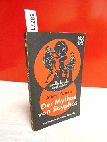 9783499550904: Der Mythos von Sisyphos.. Ein Versuch über das Absurde.