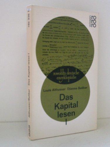9783499553363: Das Kapital lesen I.