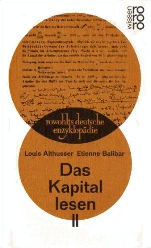 9783499553370: Das Kapital lesen II.