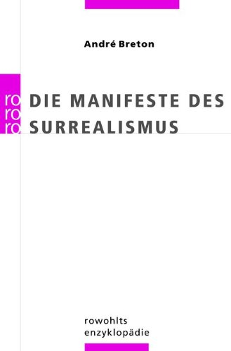 Die Manifeste des Surrealismus. (3499554348) by Breton, Andre