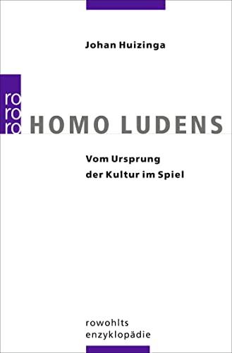 9783499554353: Homo ludens: Vom Ursprung der Kultur im Spiel: 55435
