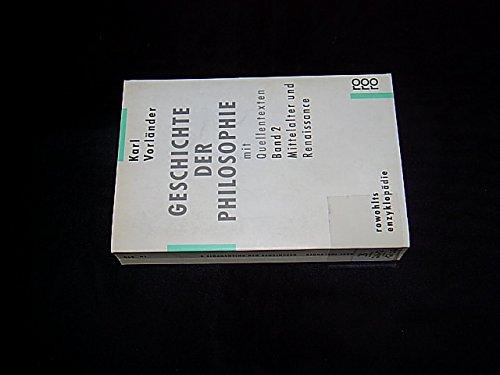 9783499554933: Geschichte der Philosophie mit Quellentexten