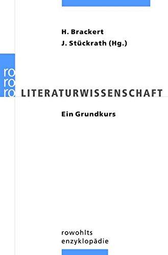 9783499555237: Literaturwissenschaft: Ein Grundkurs