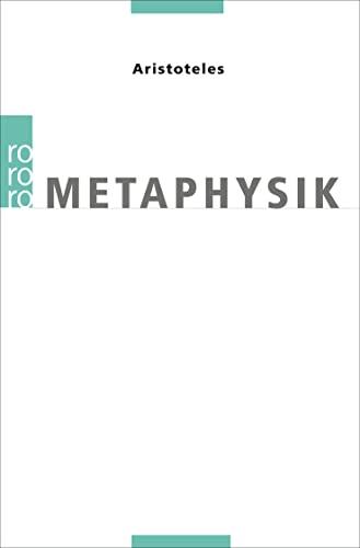 Metaphysik. - Aristoteles; Wolf, Ursula