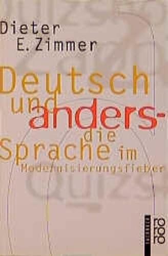 9783499605253: Deutsch Und Anders