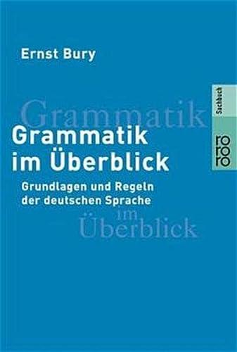 9783499606892: Grammatik Im Uberblick (German Edition)