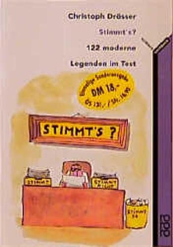 9783499611537: Stimmt's?   122 Moderne Legenden Im Test