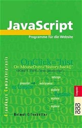 9783499612015: JavaScript