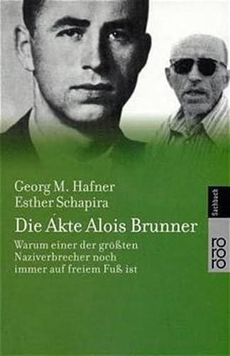 9783499613166: Die Akte Alois Brunner.